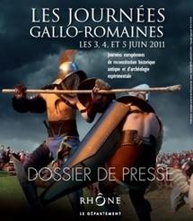 Les journées gallo-romaines au musée gallo-romain de Saint-Romain-en-Gal-Vienne les 3, 4, et 5 juin 2011