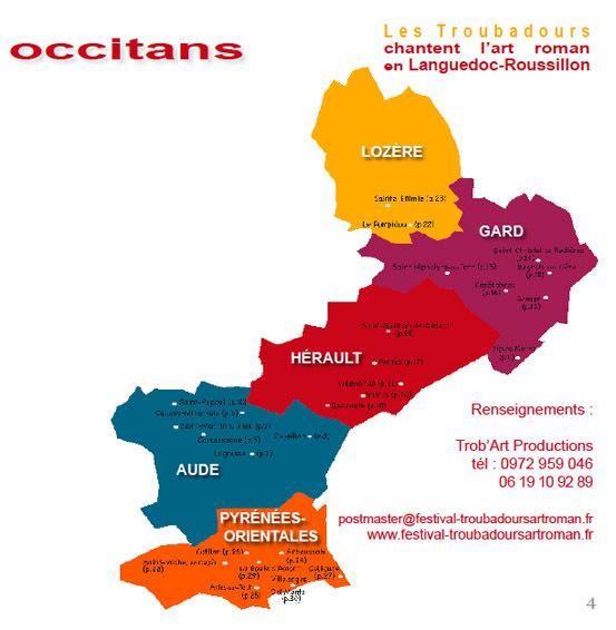 Les Troubadours chantent l'art roman en Languedoc-Roussillon du 29 mai au 7 octobre 2011