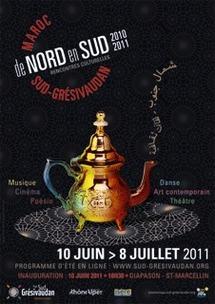 Biennale interculturelle De Nord en Sud en Pays Sud-Grésivaudan (Isère) du 10 juin au 8 juillet