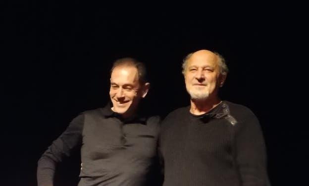 Richard Martin et Marcel Alchech © DR