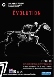 Nemours, Musée de la préhistoire : exposition Evolution du 29/9/18 au 29/9/19