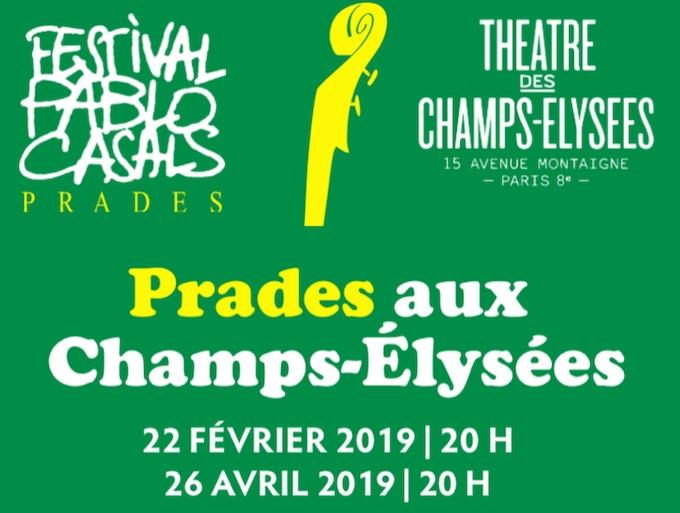 Paris, « Prades aux Champs-Elysées », 26e édition, du 22 février au 26 avril 2019