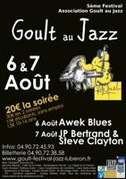 5è Festival « Goult au Jazz » les samedi 6 et dimanche 7 août 2011, à Goult (Vaucluse)