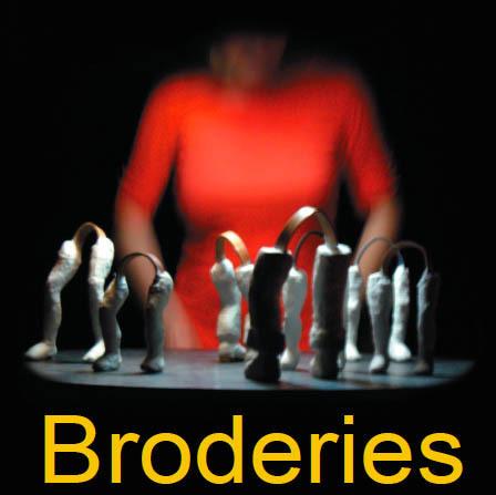 Avignon Off : Broderies, de Emilie Flacher, à L'Ecole du spectateur du 8 au 28 juillet 2011 - 17h15