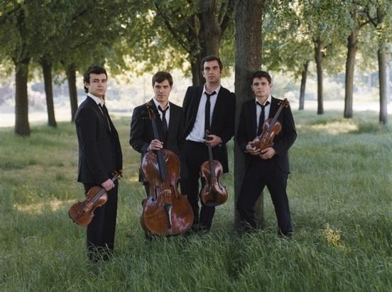 Quatuor Modigliani le 18 juillet © Carole Bellaiche