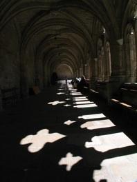 Cloître de l'abbaye de la Chaise-Dieu © Pierre Aimar