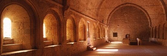 Cloître de l'abbaye de Thoronet © DR