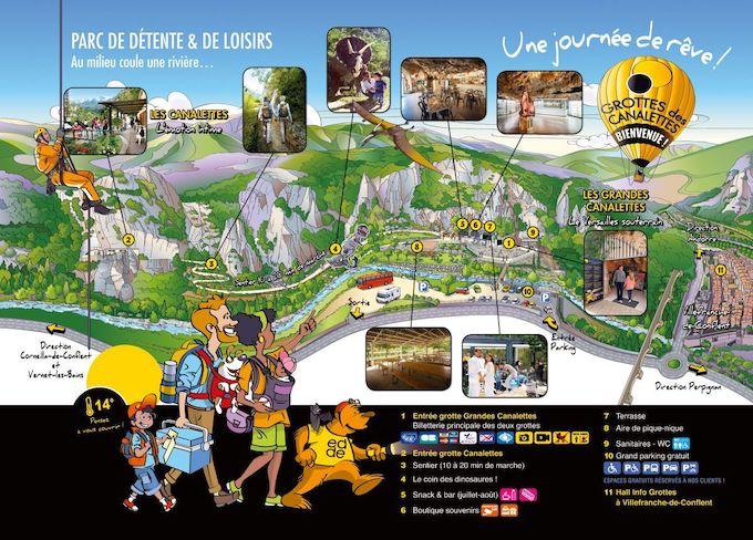 La grotte des Grandes Canalettes, « le Versailles souterrain des Pyrénées »