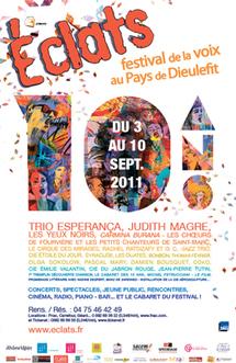 ECLATS, Festival de la Voix au Pays de DIEULEFIT