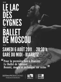 Le Ballet de Moscou pour la première fois à Biarritz le 6 août 2011