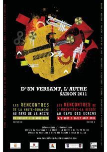 D'Un Versant, l'Autre, festival dans la vallée de la Romanche en juillet et août 2011