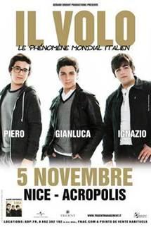 Il Volo en concert samedi 5 novembre 2011 à Nice