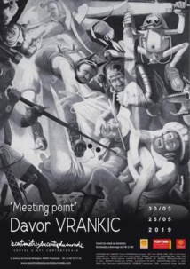"Davor Vrankic, ""Meeting point"", exposition au Centre d'Art Contemporain àcentmètresducentredumonde, Perpignan, du 30 mars au 25 mai 2019"