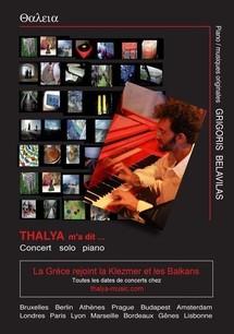 """Concert piano solo de Grigoris Belavilas, """"Thalya m a dit"""", le 6 Septembre 2011 au au Kibélé, Paris"""