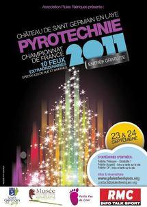 Championnat de France de Pyrotechnie les 23 et 24 septembre 2011 à Saint Germain en Laye