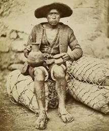 Émile Colpaërt (active 1858 – 1870). Native of Urcos. Scientific Expedition, Peru, 1864. Paris, musée du quai Branly – Jacques Chirac.