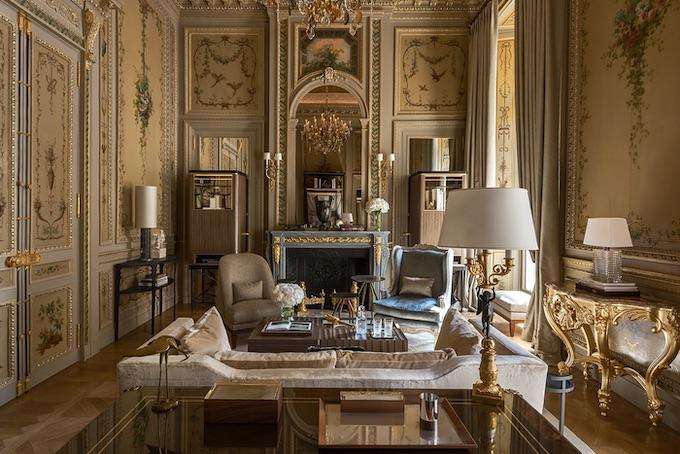 La suite Duc de Crillon en l'hôtel du même nom, Paris, folie ou caprice ?