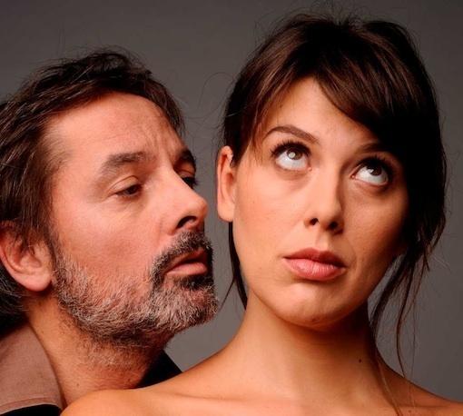 Christophe Alévêque et Serena Reinaldi © DR