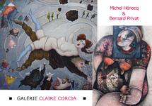 """EXPOSITION """" DROLES D'HISTOIRES """" à LA GALERIE CLAIRE CORCIA, PARIS"""