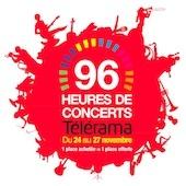 Les 96 heures de concerts Télérama 2011. 3ème édition du 24 au 27 novembre 2011