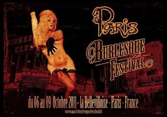 Paris Burlesque Festival, du 6 au 9 Octobre 2011 à la Bellevilloise (Paris 20ème)