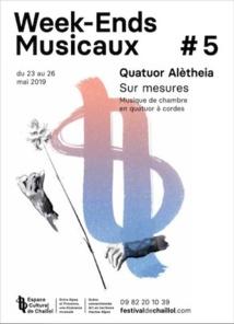 Espace culturel de Chaillol, Week-Ends Musicaux #5 - Sur mesures, concerts du 23 au 26 mai 2019