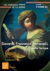 Giovanni Francesco Romanelli, peintre baroque, conférence et présentation le samedi 15 octobre 2011, au château de Grignan