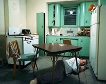Jeff Wall – Insomnia – 1994 – Transparency in lightbox –172 x 213.5 © Courtesy of the artist