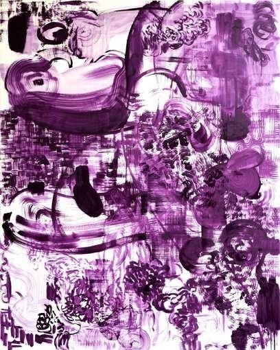 RV O2, 2008, huile sur toile, 220 x 160 cm, © Jérôme Boutterin