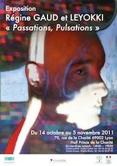 Exposition  d'art contemporain : « Hall prince de la charité » à Lyon, « Passations Pulsations. » du vendredi 14 octobre au samedi 5 novembre 2011