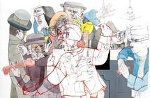 """Exposition de Sergio Moscona """" Bendita desconfianza """" à la Galerie Claire Corcia, Paris, du 12 octobre au 17 décembre 2011"""
