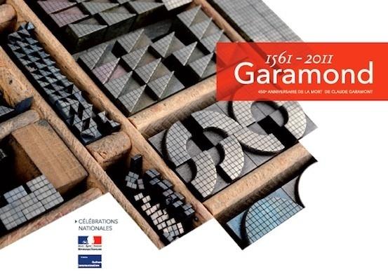 www.garamond.culture.fr : un site multimédia dédié au caractère Garamond.
