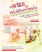 Envies de Méditerranée, Festival des cultures méditerranéennes au Pont du Gard du 24 au 30 octobre 2011