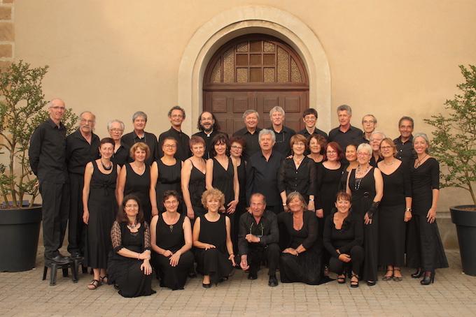 Le Chœur Madrigal en concert  au Temple de Guilherand-Granges (Ardèche) le 25 mai 2019