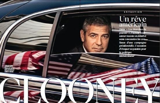 Entretien,  Georges Clooney, Un rêve américain. Propos recueillis par Jean-Paul Chaillet pour le Figaro Magazine du vendredi 21 octobre 2011