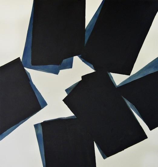 S.T. 2008. Huile sur toile, 180 x 190 cm. Serge FAUCHIER
