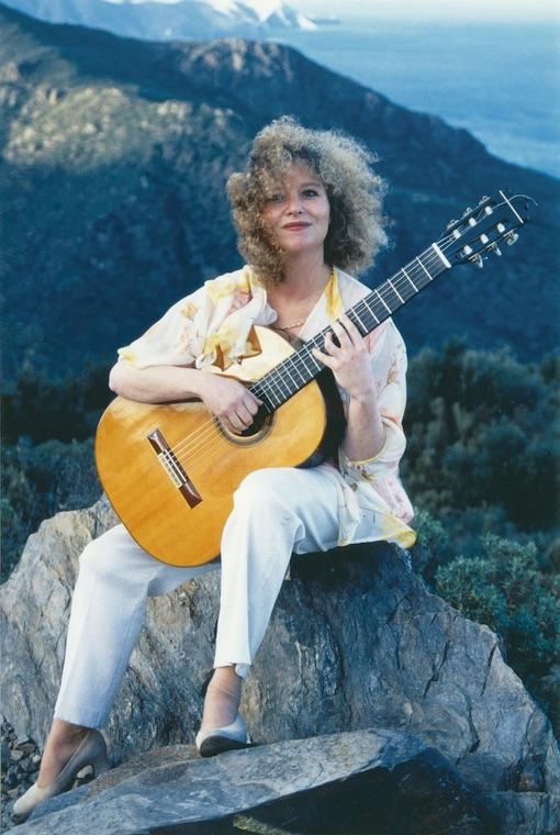 Récital Valérie Duchâteau, guitare, chapelle du Mas Riquer, Catllar (66), le 2 juin 2019 à 17h