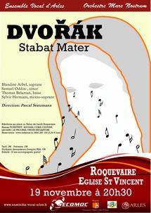Stabat Mater de Dvorák  par l'Ensemble Vocal d'Arles le 19 novembre 2011 à Roquevaire (13)