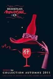 Le Beaujolais Nouveau 60 ans déjà… et c'est le 17 novembre 2011 à 00h00