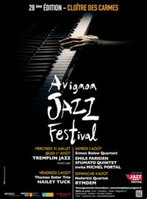 Avignon Jazz Festival au Cloître des Carmes du 31 juillet au 4 août 19