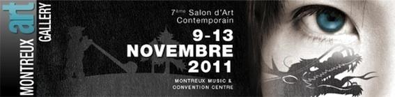 Montreux Art Gallery 2011 du 9 au 13 novembre 2011