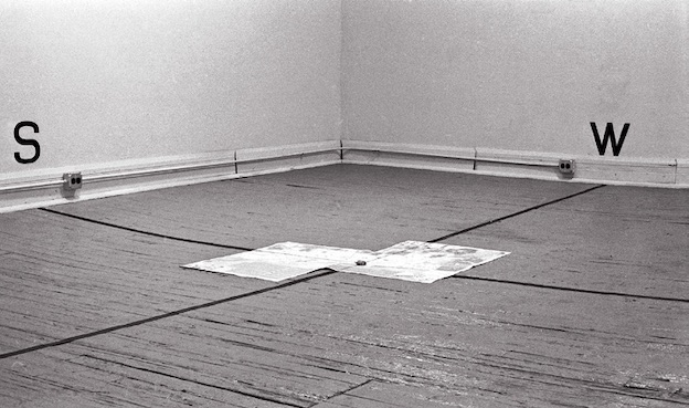 Àngels Ribé, North-South-East-West, installation, 1973 © A. Ribé