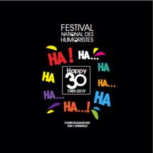 Festival des humoristes de Tournon-sur-Rhône-Tain l'Hermitage : 30 ans… le livre « Happy 30 » vient de paraître !
