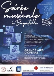 Marseille, L'Art au Service de la solidarité, concert prestige au profit de la Croix-Rouge, Parc Bagatelle le 22 juin 2019 à 19h
