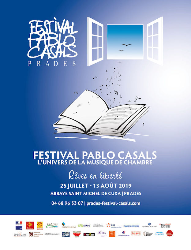 Prades - Festival Pablo Casals du 25 juillet au 13 août 2019. Réflexion autour  de Pablo Casals