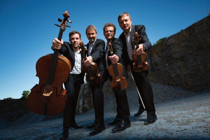 Quatuor Debussy 2019 © Bernard Benant