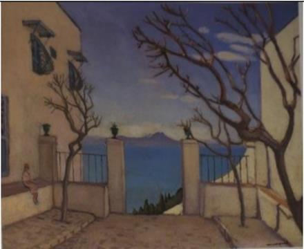Albert Marquet (1875-1947) Sidi Bou-Saïd, Le Portail, l'hiver, 1923 Huile sur toile, 60 x 73 cm Collection particulière