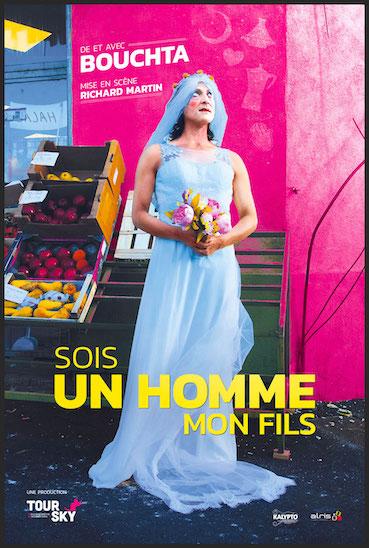 Festival Off d'Avignon : « Sois un homme mon fils » au Théâtre du Chien qui fume, du 5 au 28 juillet 2019 à 20h50