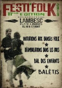Festifolk, Lambesc du 15 au 17/8/19
