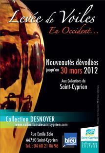 Levée de Voiles en Occident à Saint-Cyprien (66), prolongation jusqu'au 30 mars 2012